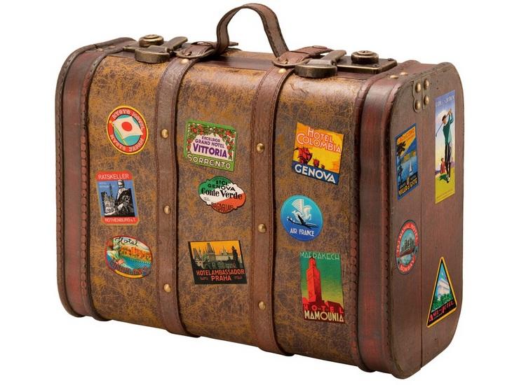 Fazer a mala de viagem