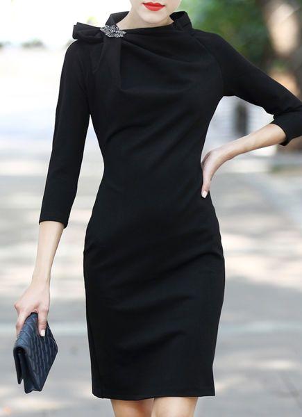 844f9468f O que Usar com um Vestido Preto