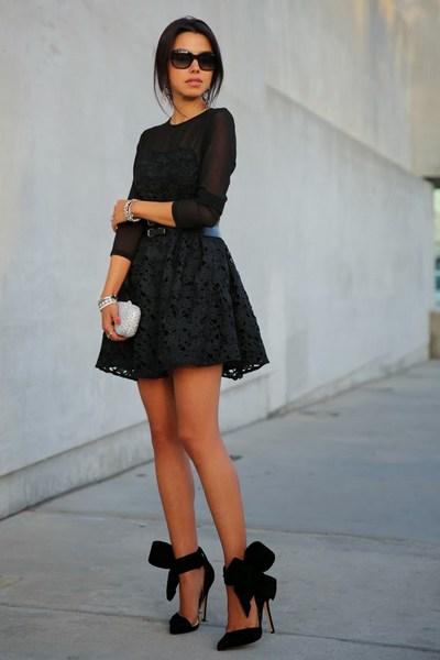 4632a7b5ee0bc O que Usar com um Vestido Preto