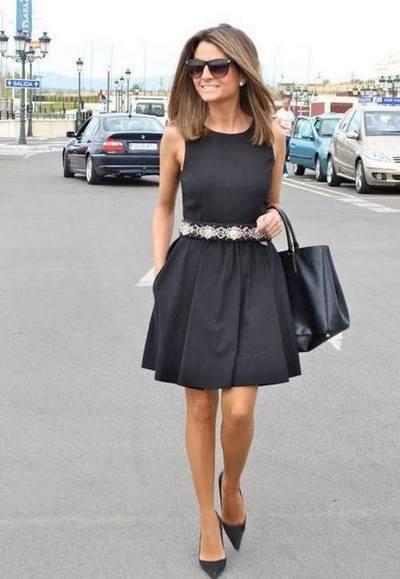 que Usar com um Vestido Preto