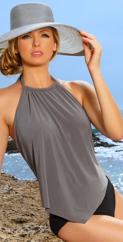 Moda de praia - Tankini