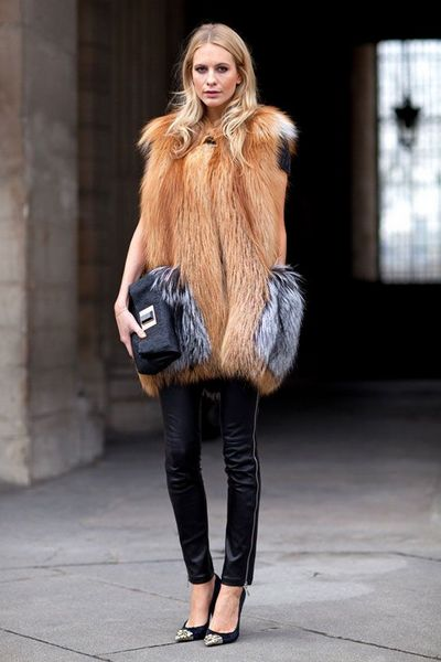 How to Wear a Fur Coat - Fall Winter | bemvestir®