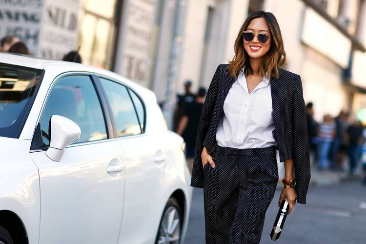 Ways to Style a White Shirt – Fall Winter 15/16