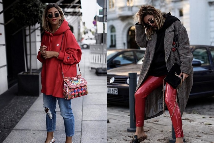 How to Wear Red – Fall Winter