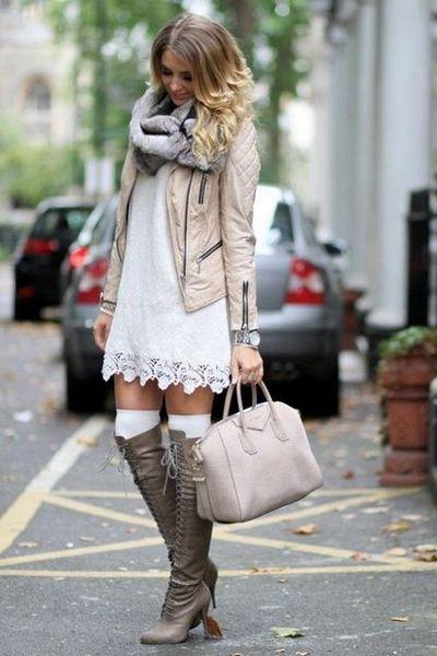Ways to Wear white in Winter
