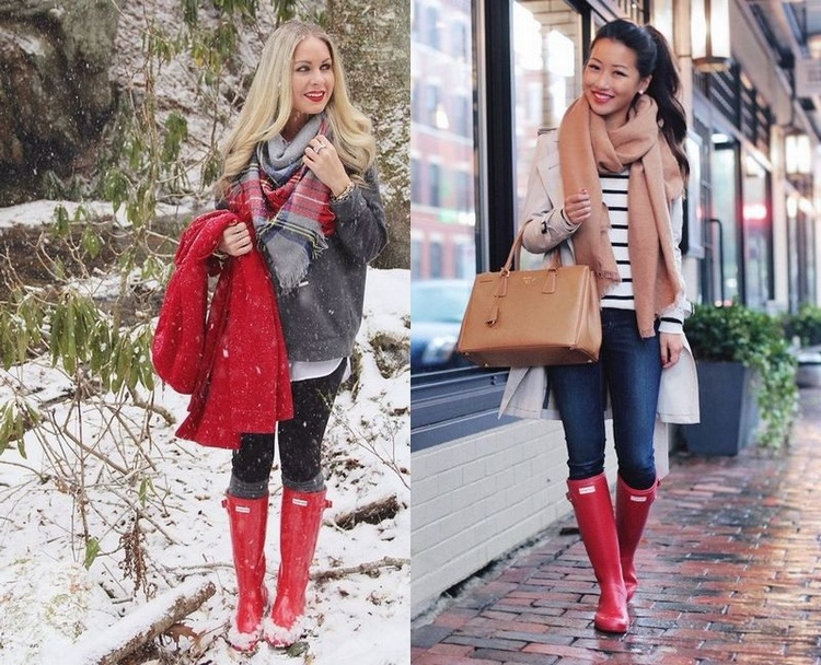 Ways To Wear Rain Boots