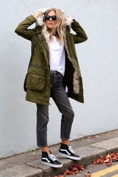 How to Wear Women's Parka