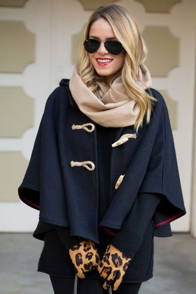 Ways to Wear Winter Capes