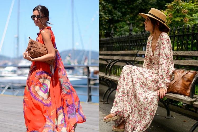 Peças de roupa trendy primavera verão
