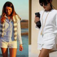 Como usar calções – primavera verão