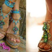 Como usar sandálias