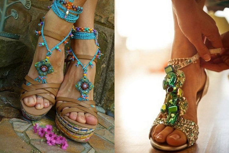 Como usar sandálias – Primavera Verão 2016