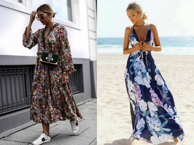 Vestidos Floridos
