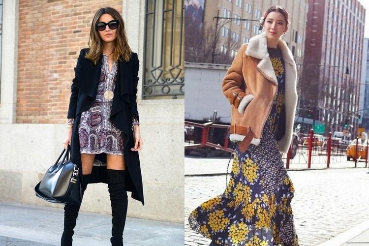 Como usar vestido florido – Vários estilos