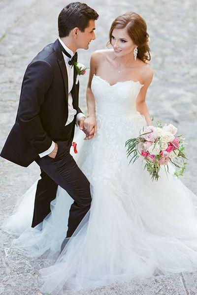 Vestidos de noiva de renda
