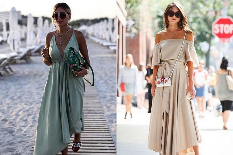 Vestidos de verão  – tendências e estilos