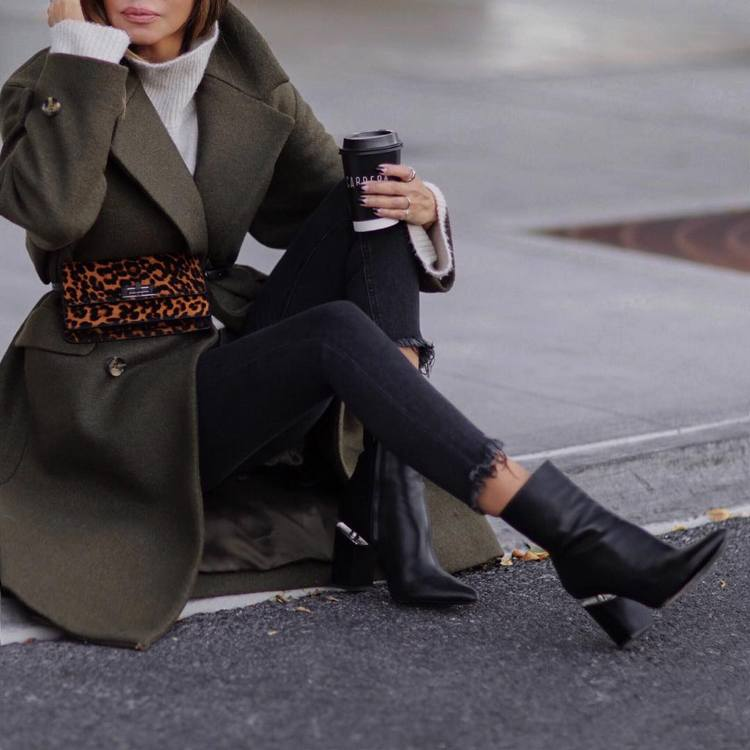 f96f9794c59 Botas femininas moda outono inverno 2019