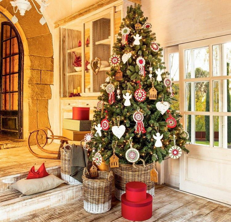 Árvore de Natal e Decoração da Casa