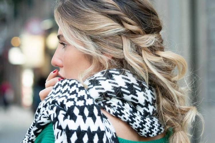 Penteados apanhados – tendências outono inverno 2019