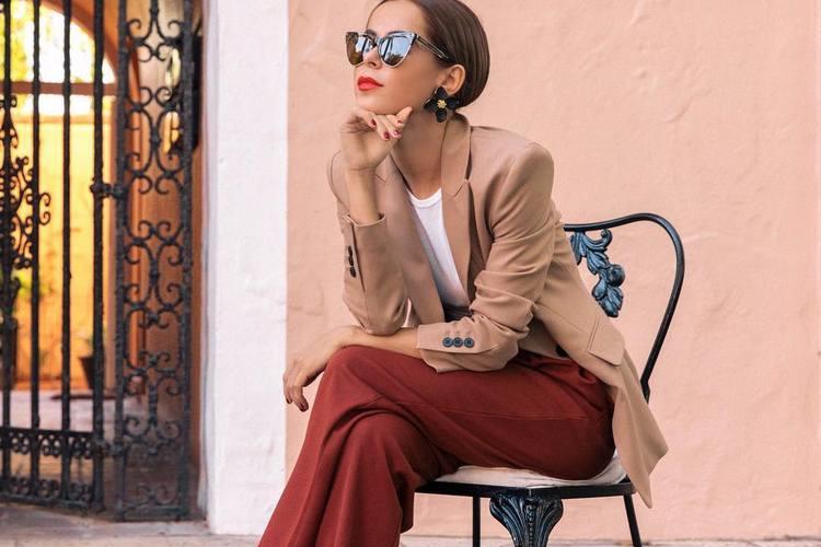 Como usar calças largas de cintura subida – Primavera verão