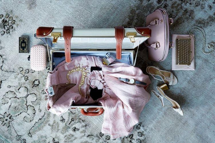 Organizar a mala de viagem