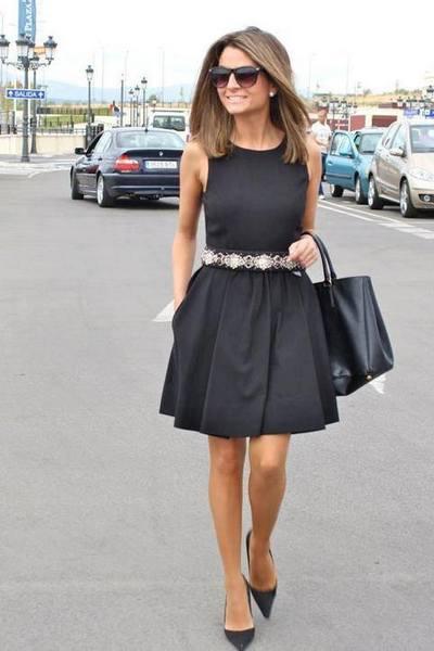 O Que Usar Com Um Vestido Preto
