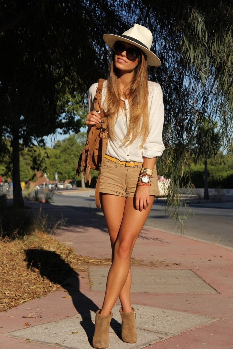 Urban shorts look
