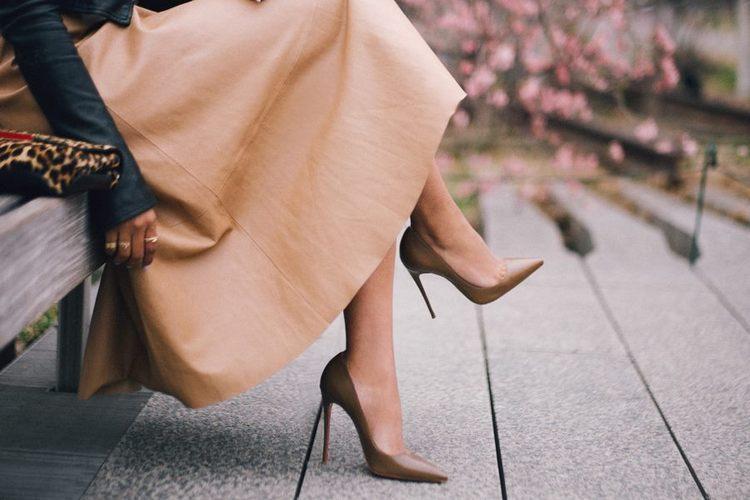 Sapatos salto agulha