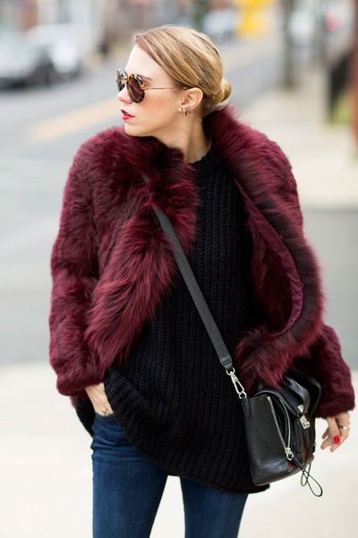 How to Wear a Fur Coat