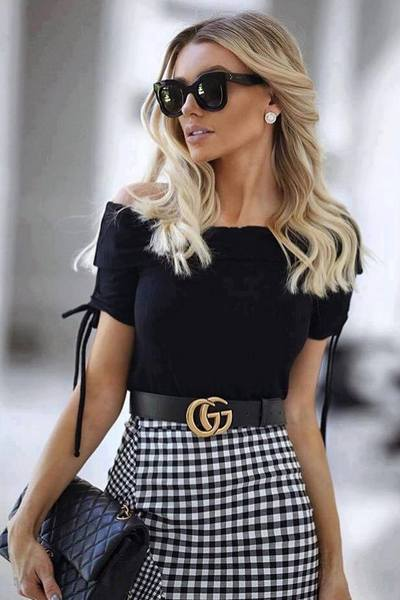 Moda a preto e branco