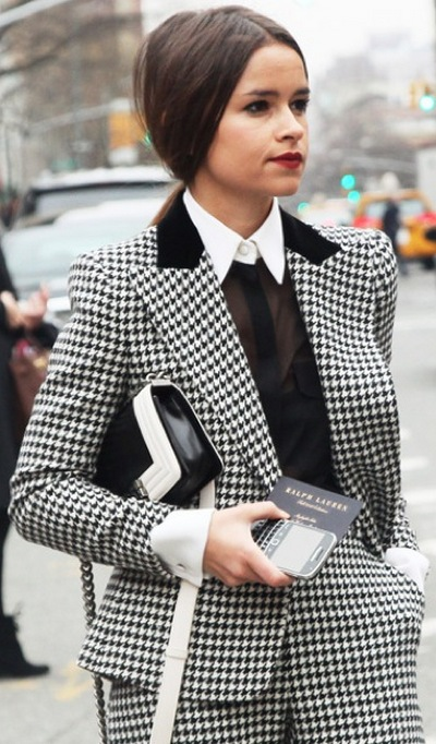 Black and White Fashion Trend