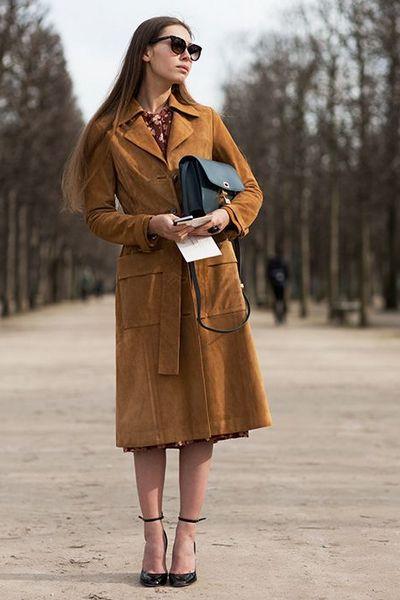 Ways to Wear Suede Fall Winter 2015-2016