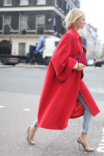 How to Wear Red - Fall Winter 2015-2016