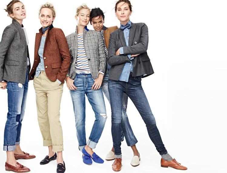 Ways for Women Wear Mens Shoes