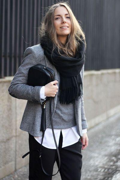 Como Usar Camisa Branca Outono Inverno 15 16 Bemvestir 174