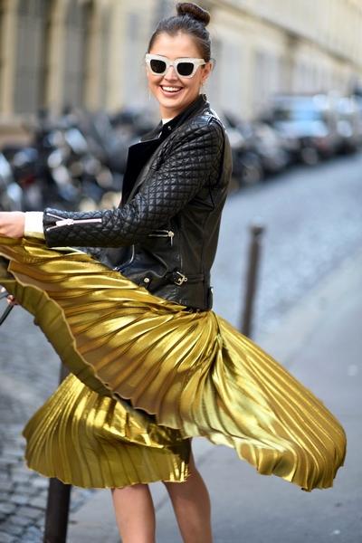 Como usar saia evasê