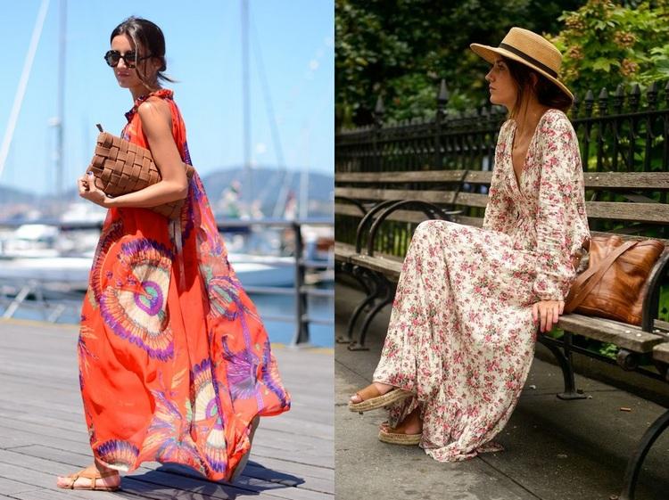 Peças de roupa trendy