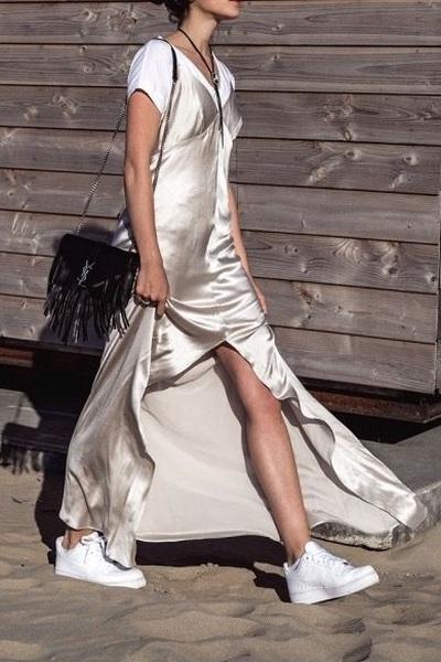 Como usar slip dress