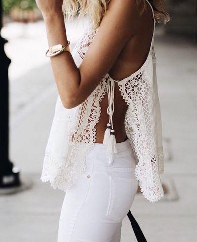 Branco cor do verão