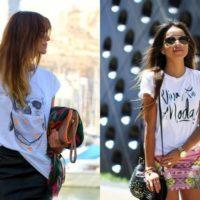 T-shirt com frases – Ao seu estilo e modo de vida
