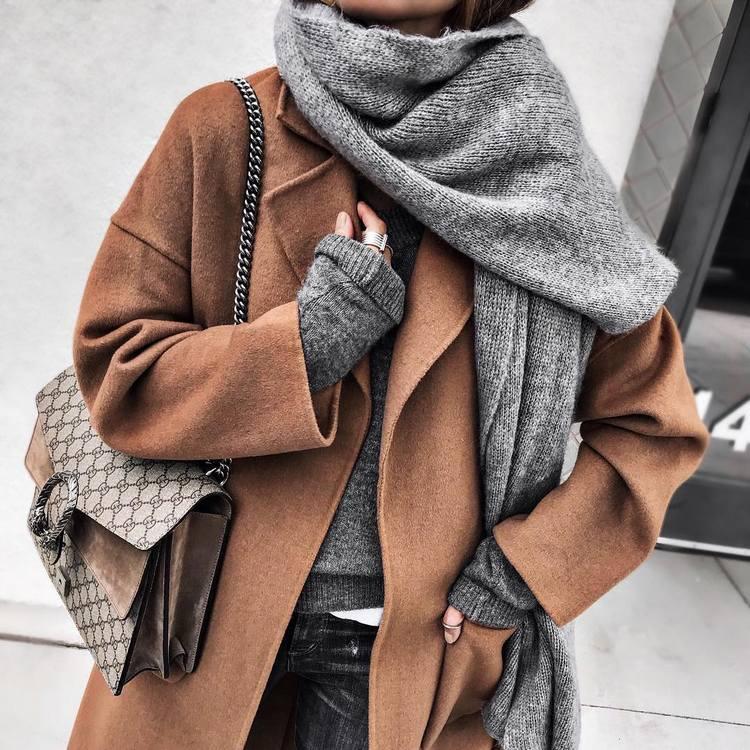 Como usar casacos de inverno - Moda outono inverno