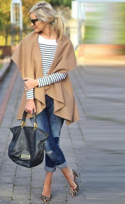 Como usar casacos de inverno
