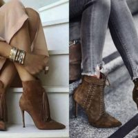 Sapatos e botas ideais