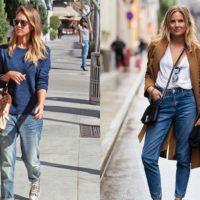 Modelos de jeans – Mom, boyfriend e cropped
