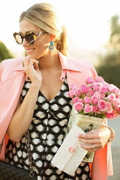 Rosa cor mais feminina