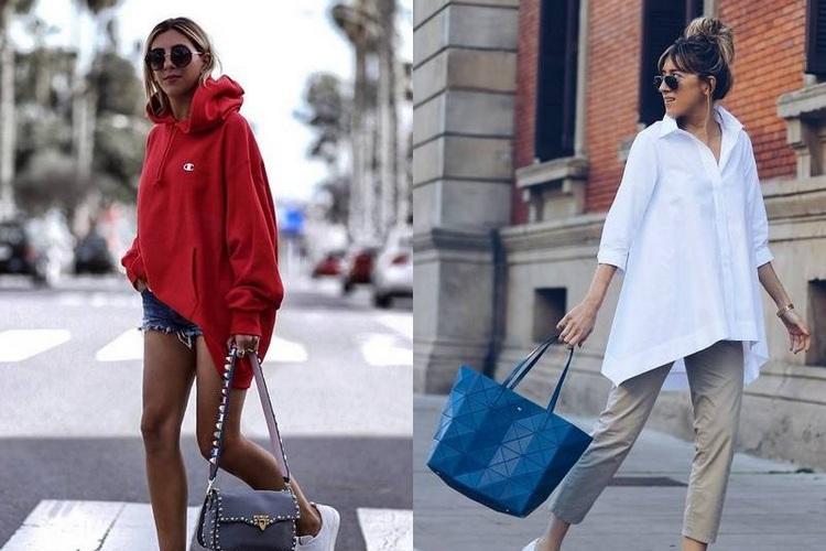 Como usar roupas oversized – Liberdade de movimentos