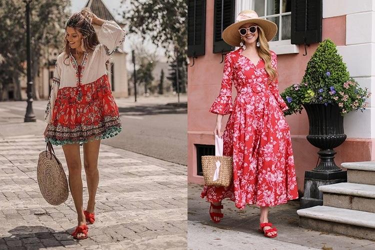 Sandálias rasas – Moda verão