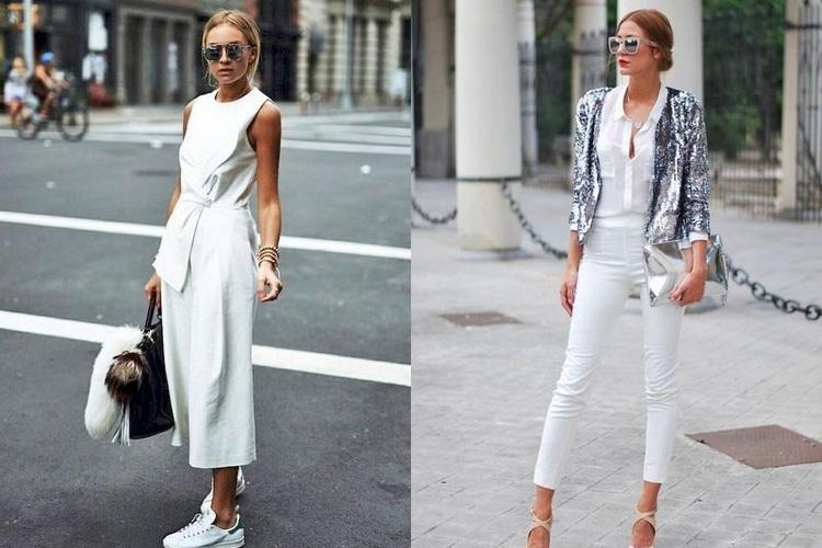 Tons brancos sempre na moda – Primavera Verão