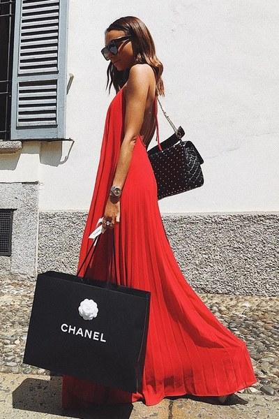 Vermelho a cor vibrante