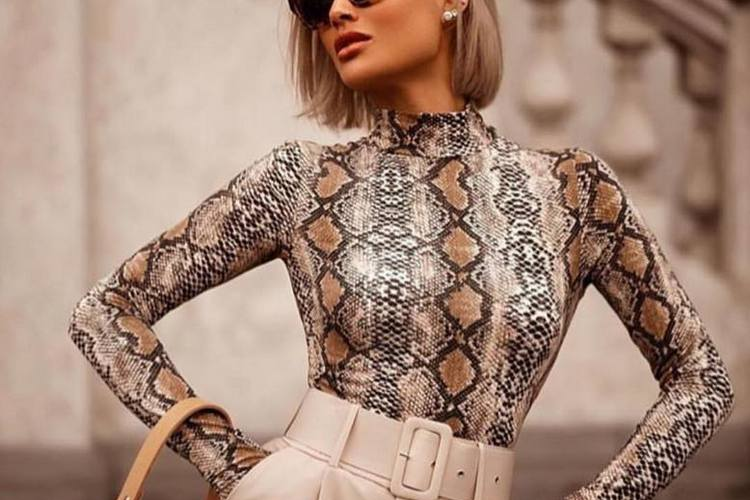 Padrão serpente moda outono inverno 2019